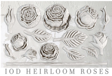 Load image into Gallery viewer, Heirloom Roses Mould Moulds - Iron Orchid Designs Moulds available at Lemon Tree Corners