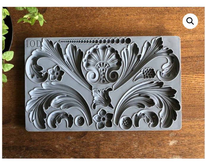 Acanthus Scroll Mould Moulds - Iron Orchid Designs Moulds available at Lemon Tree Corners