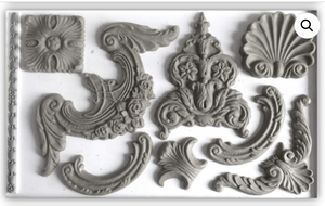 Classic Elements Mould Moulds - Iron Orchid Designs Moulds available at Lemon Tree Corners