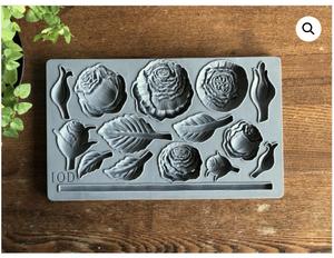 Heirloom Roses Mould Moulds - Iron Orchid Designs Moulds available at Lemon Tree Corners