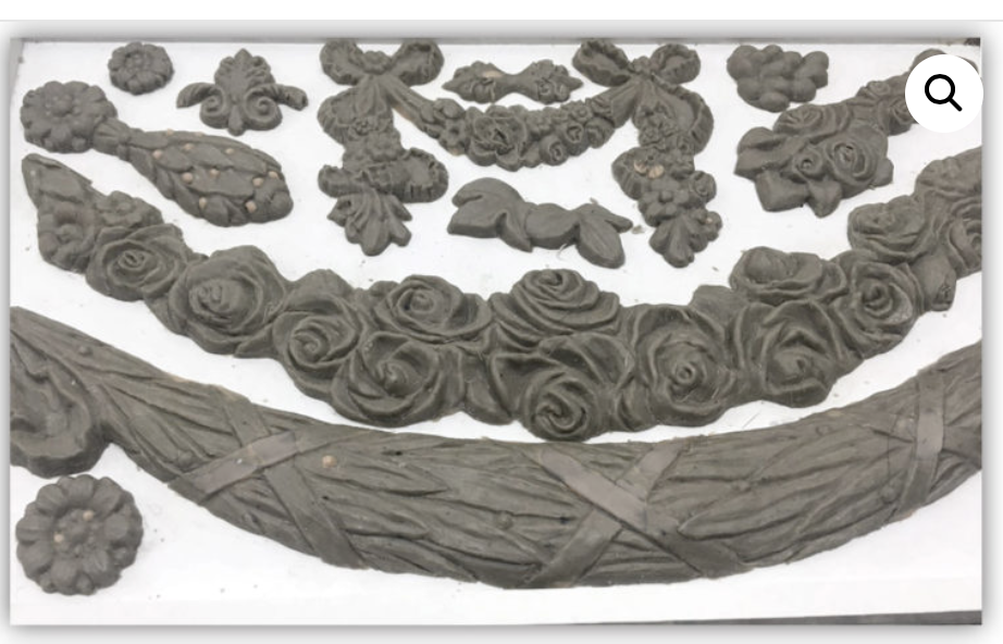 Swags Mould Moulds - Iron Orchid Designs Moulds available at Lemon Tree Corners