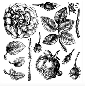 Lady Of Shallot Stamps - Iron Orchid Designs Stamps available at Lemon Tree Corners
