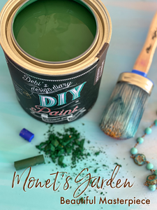 Monet's Garden DIY Paint DIY PAINT - DIY Artisan Clay Paint and Chalk Finish Furniture Paint available at Lemon Tree Corners
