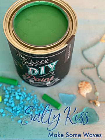 Salty Kiss DIY Paint DIY PAINT - DIY Artisan Clay Paint and Chalk Finish Furniture Paint available at Lemon Tree Corners