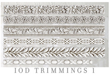 Load image into Gallery viewer, Trimmings 1 Mould Moulds - Iron Orchid Designs Moulds available at Lemon Tree Corners