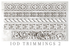 Load image into Gallery viewer, Trimmings 2 Mould Moulds - Iron Orchid Designs Moulds available at Lemon Tree Corners