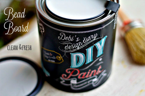 Bead Board DIY Paint DIY PAINT - DIY Artisan Clay Paint and Chalk Finish Furniture Paint available at Lemon Tree Corners