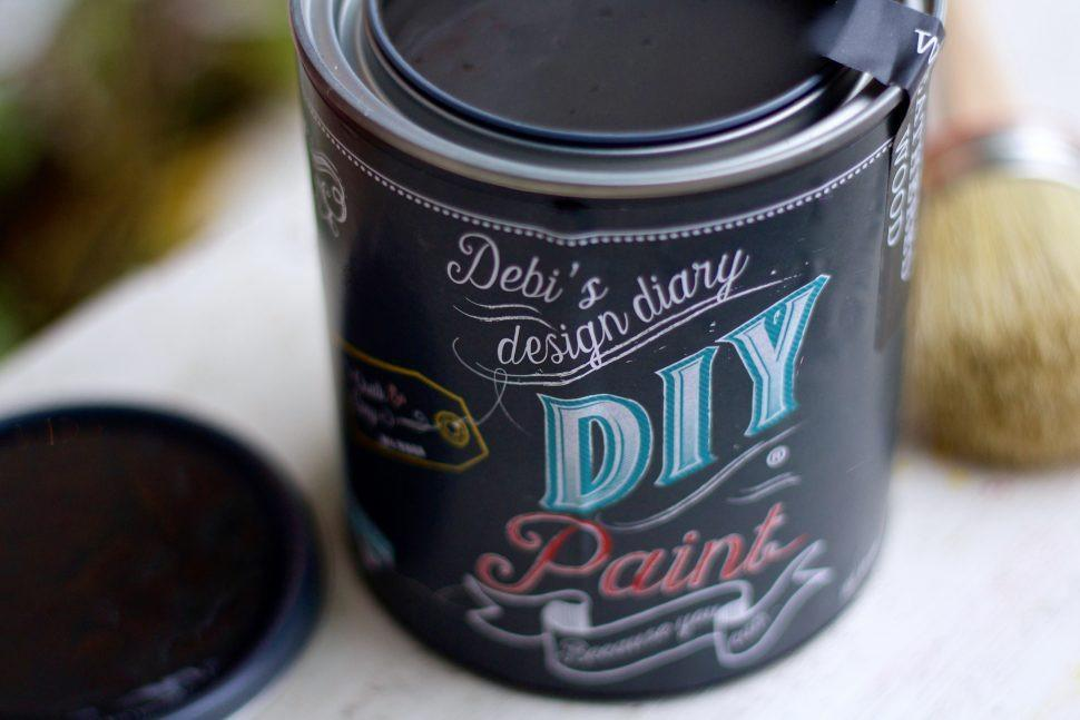 Black Velvet DIY Paint DIY PAINT - DIY Artisan Clay Paint and Chalk Finish Furniture Paint available at Lemon Tree Corners