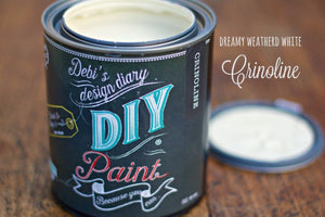 Crinoline DIY Paint DIY PAINT - DIY Artisan Clay Paint and Chalk Finish Furniture Paint available at Lemon Tree Corners
