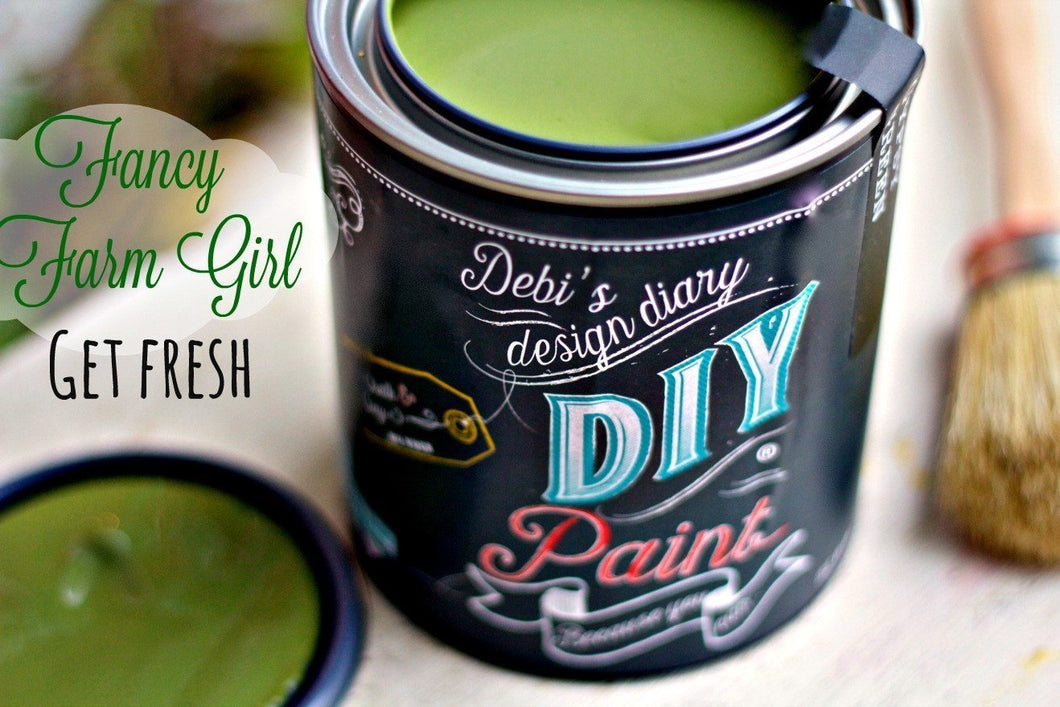 Fancy Farmgirl DIY Paint DIY PAINT - DIY Artisan Clay Paint and Chalk Finish Furniture Paint available at Lemon Tree Corners
