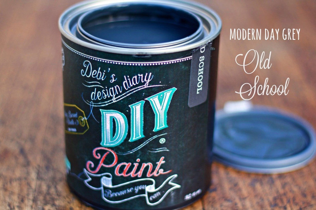 Old School DIY Paint DIY PAINT - DIY Artisan Clay Paint and Chalk Finish Furniture Paint available at Lemon Tree Corners