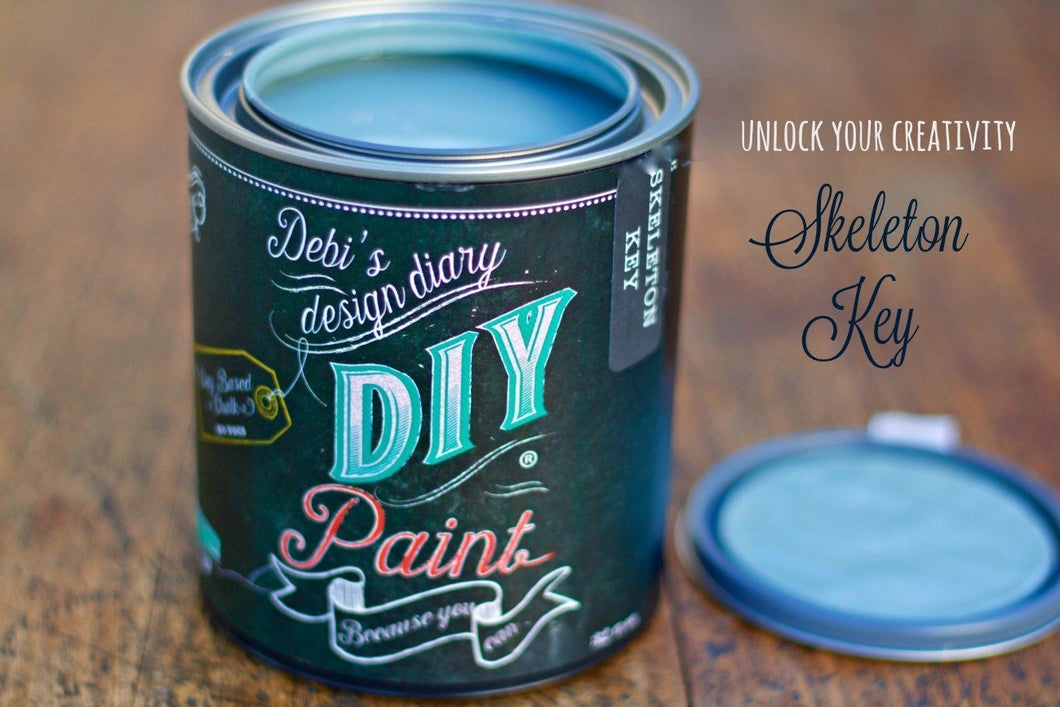Skeleton Key DIY Paint DIY PAINT - DIY Artisan Clay Paint and Chalk Finish Furniture Paint available at Lemon Tree Corners