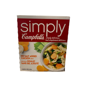 Simply Campbell's Chicken Broth