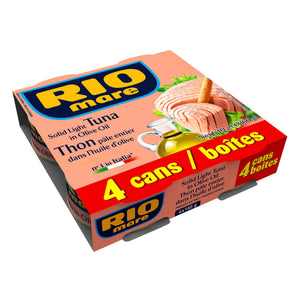 Rio Mare Light Tuna (4 x 160 g)
