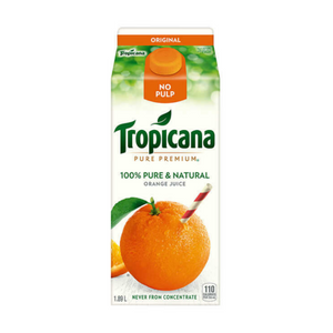 Tropicana Pure Premium Orange Juice No Pulp (1.89 Litre)
