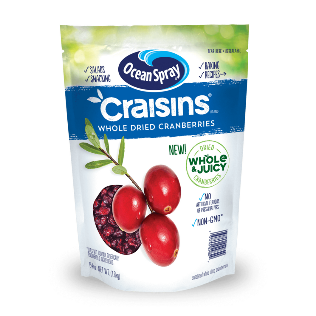 Ocean Spray Whole Dried Cranberries (1.8 kg)