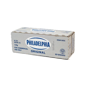 Philadelphia Cream Cheese Block (1.5 kg)