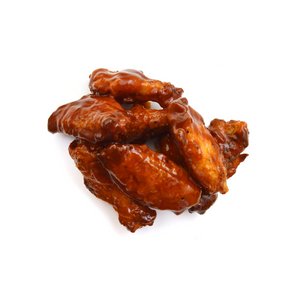 Frozen 1/2 Cooked Chicken Wings Bbq Seasoning  (4 kg)