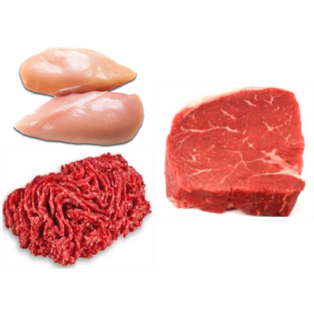 Frozen Assorted Meat (10 pieces)