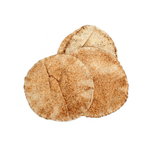 Load image into Gallery viewer, Hanna's Bakery 100% Whole-Wheat Pita Bread (14 oz bag)