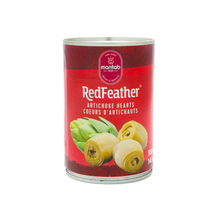 Load image into Gallery viewer, Red Feather Artichoke Hearts (3 x 398 ml)