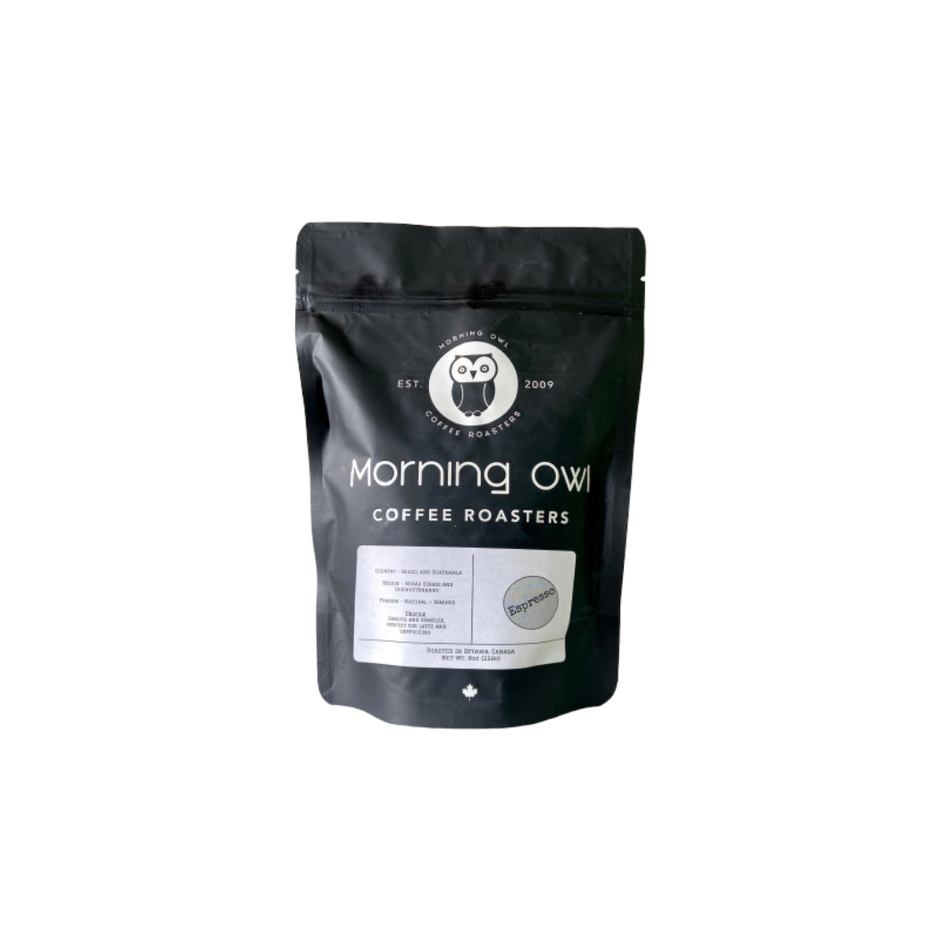 Morning Owl Coffee Espresso (8 oz bag)