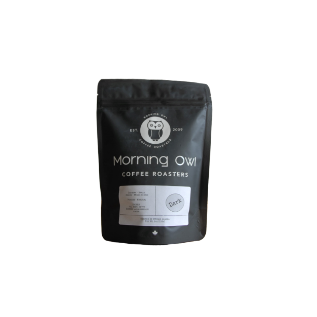 Morning Owl Dark Roast Coffee (8 oz bags)