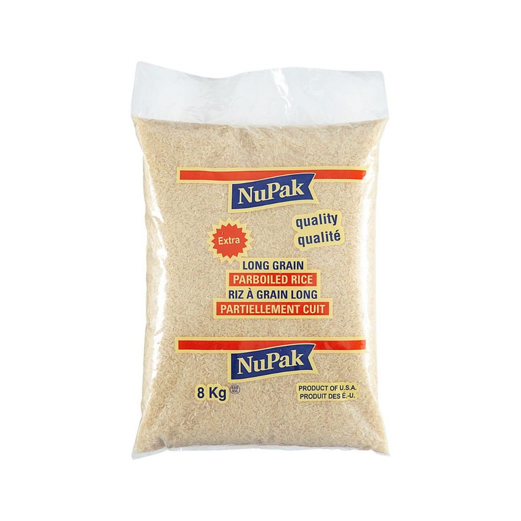 Nupak Extra Long Grain White Rice (8 kg)
