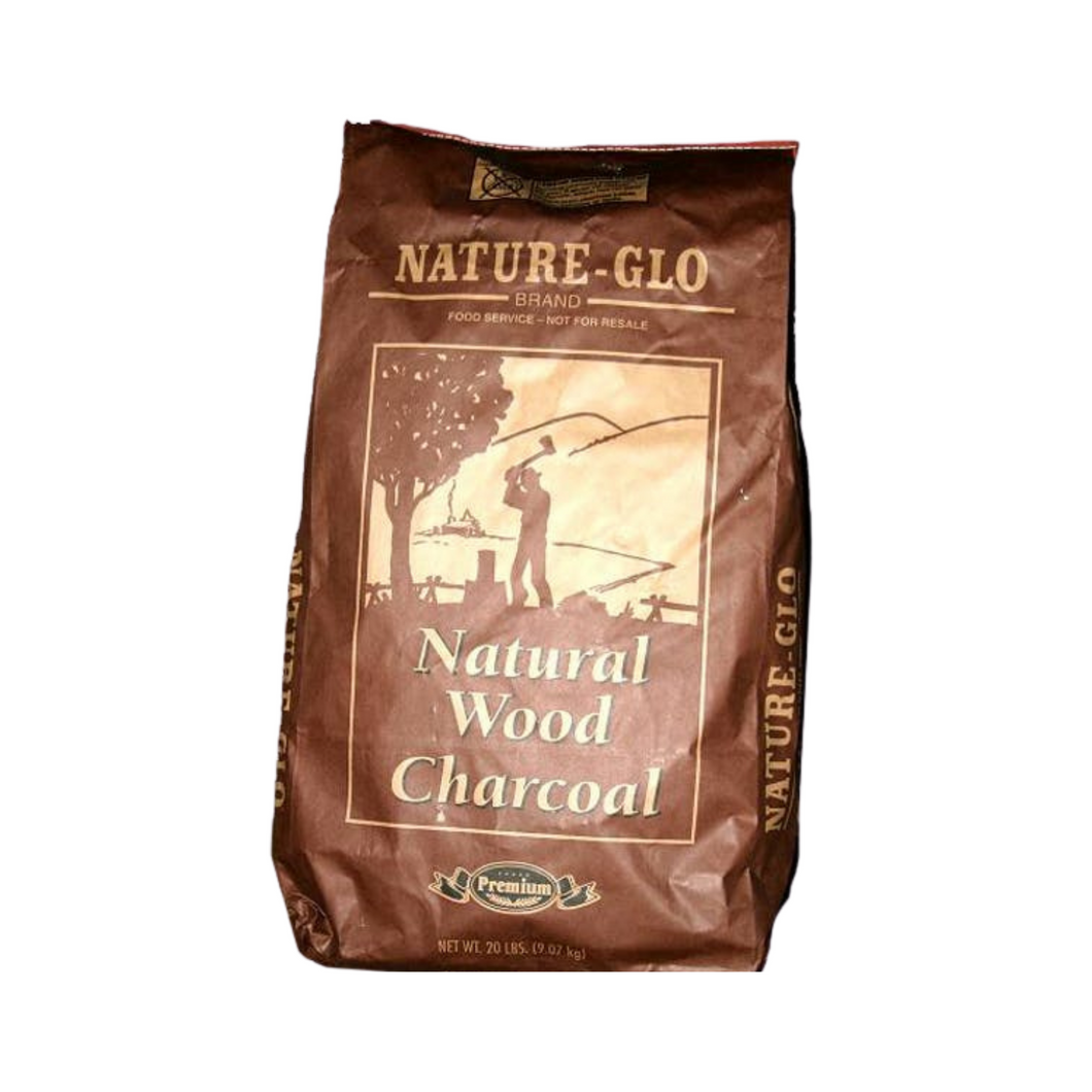 Nature-Glo Natural Wood Charcoal (20 kg bag)