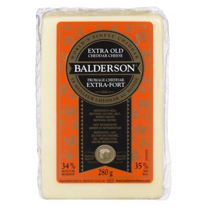 Balderson Extra Old White Cheddar Cheese (280g)
