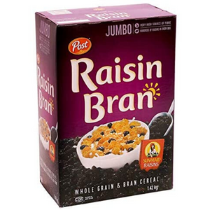 Post Raisin Bran Cereals (1.42 kg)