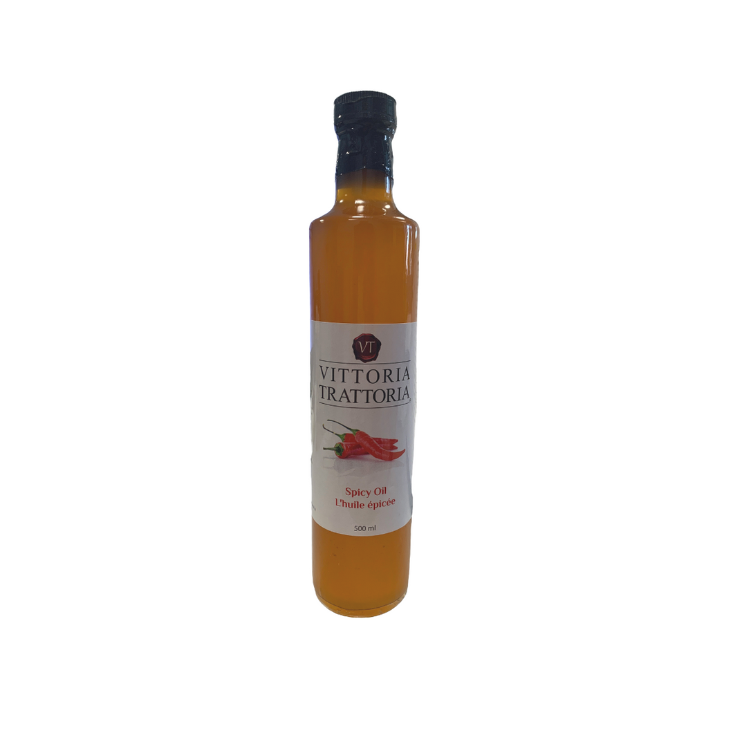 Vittoria Trattorias Spicy Oil (1 x 500 ml)