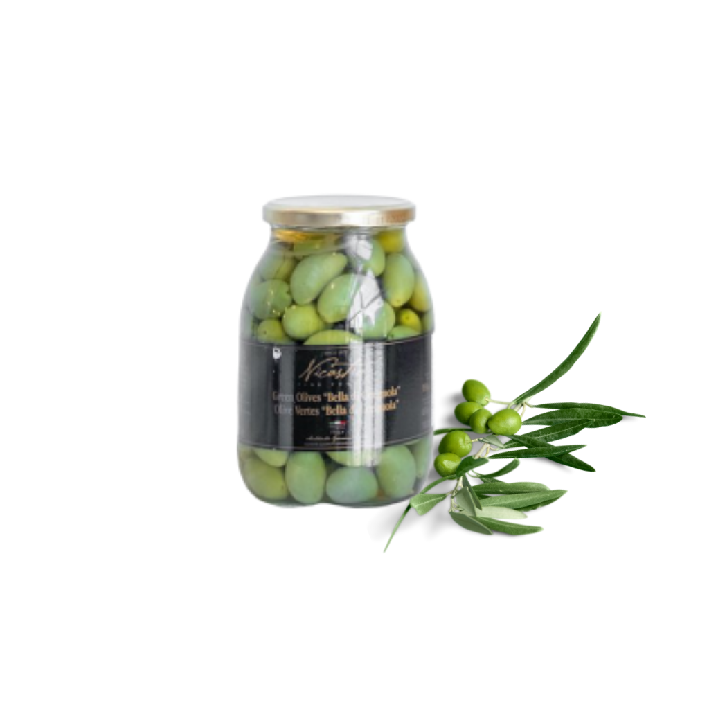 Nicastro's Green Olives (1062 ml)