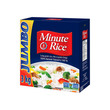 Load image into Gallery viewer, Jumbo Minute Rice (3 kg)
