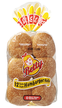 Load image into Gallery viewer, Betty Hamburger Rolls (1 bag: 12 units)