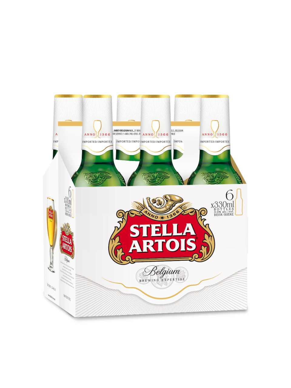 Stella Artois bottle 6x330mL