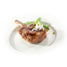 Load image into Gallery viewer, Frozen, French Cut, Milk Fed Veal Chop (1 piece: 12 oz)