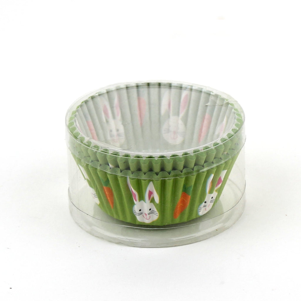 "Easter 50pcs 3"" Baking Cups/Pvc Box"