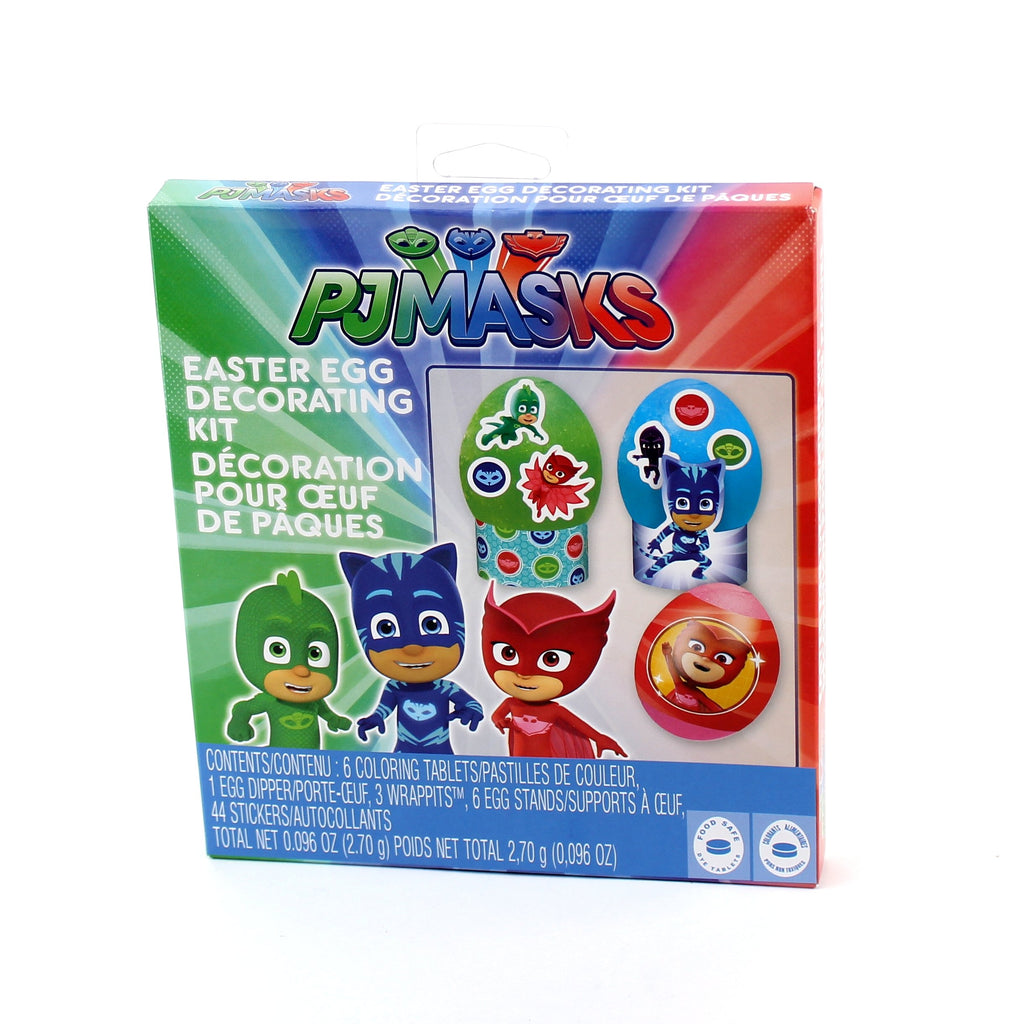 Licensed Egg Decorating Dye Kit-Box 2/S24/pdq(PJ Masks)