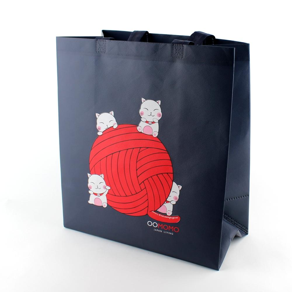 Oomomo Tote Bag (Cat Yarn)
