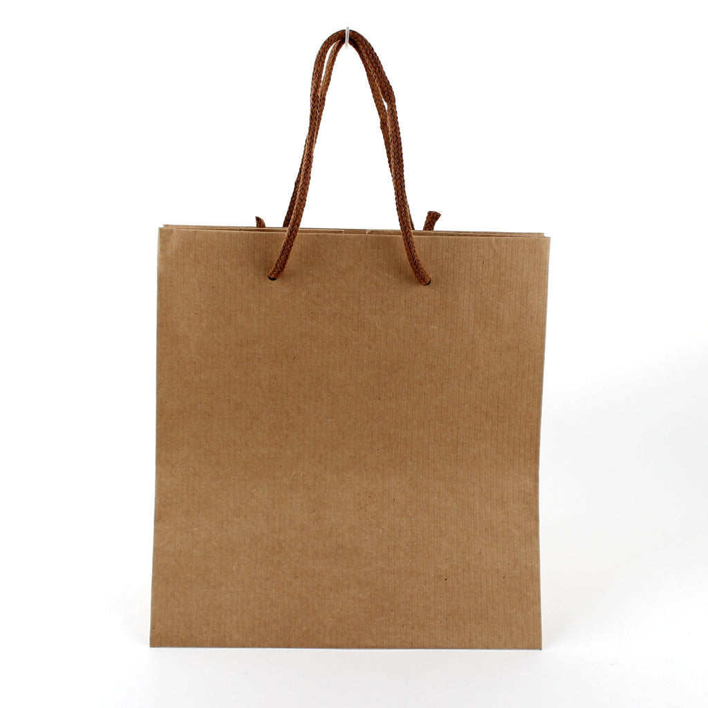 Cake Bag (Kraft Paper/Handle/For 15cm Cake/Embossed/21x22x24cm)