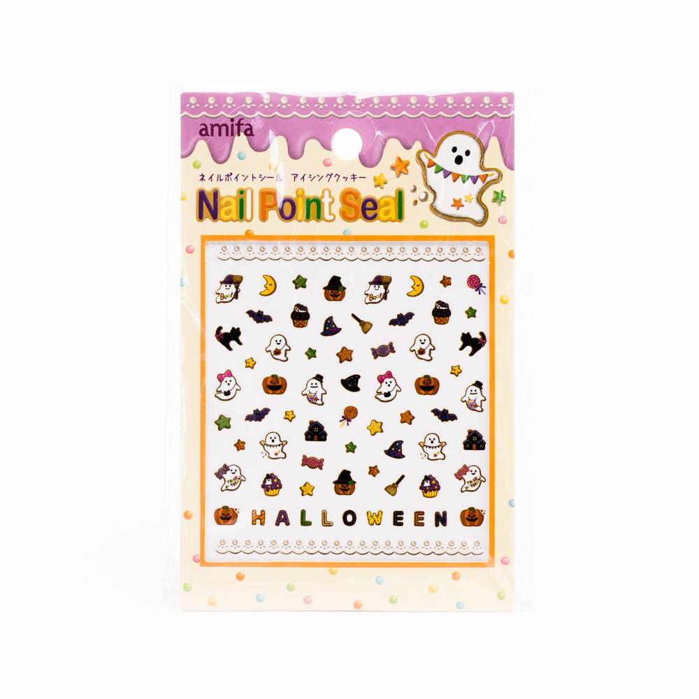 Halloween Nail Stickers (Cookies with Icing)