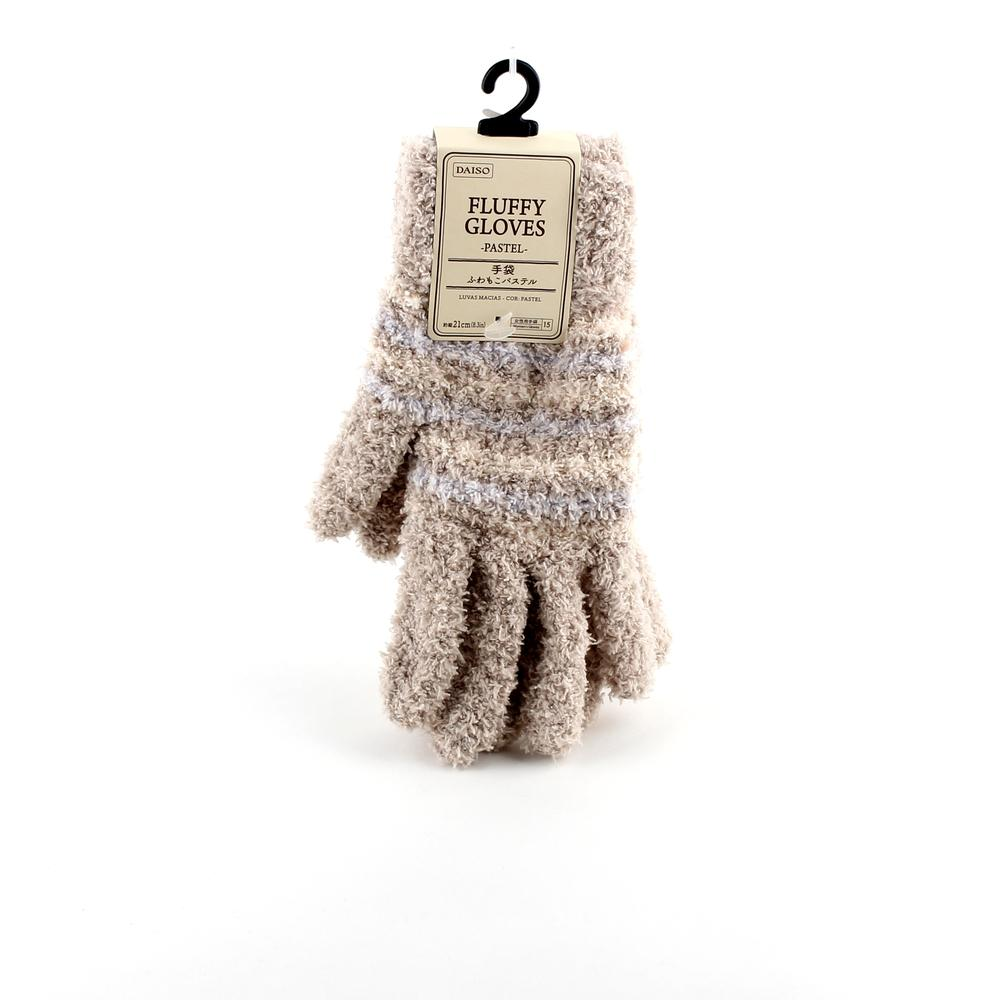 Winter Gloves (Fluffy/Pastel/PK BE/21cm)