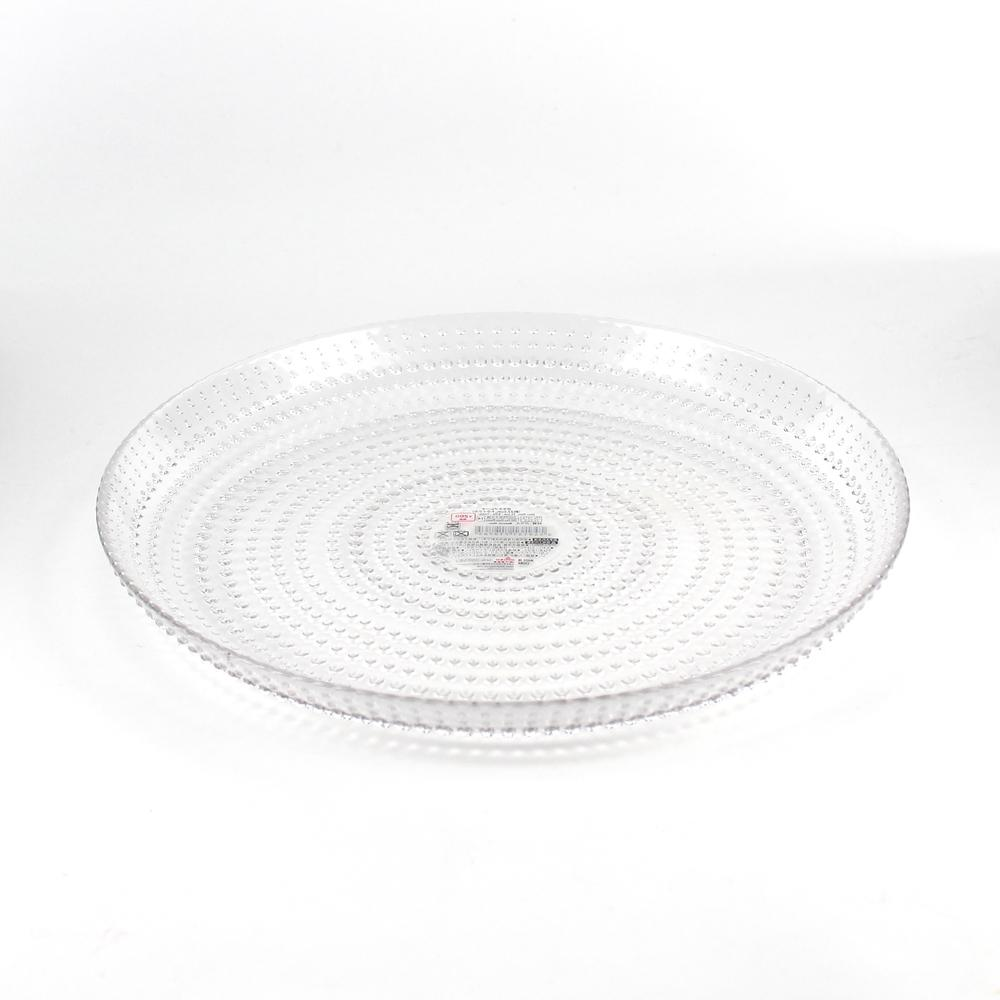 Plate (Glass / CL / 22.5cm)