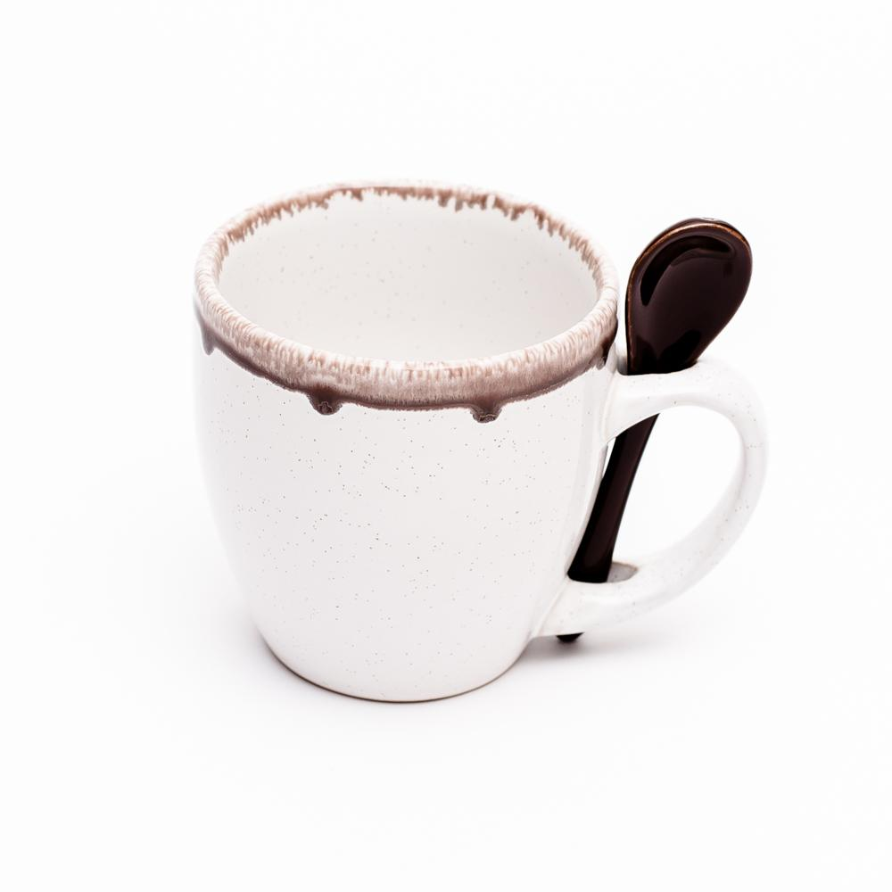 Mug (Ceramic/w/Spoon/Drip/3xCol)