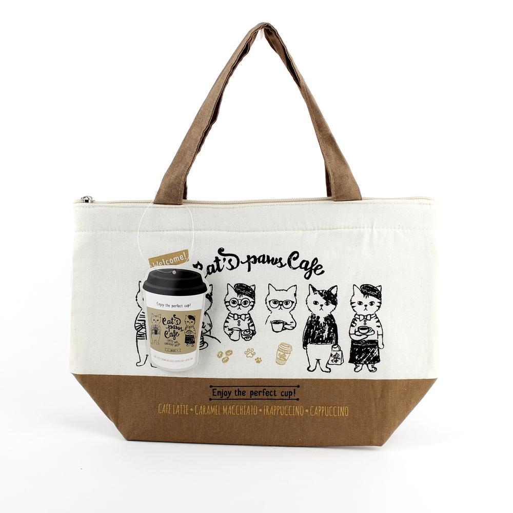 Lunch Bag (Cooler/Cat/Cafe/10x30x20cm)