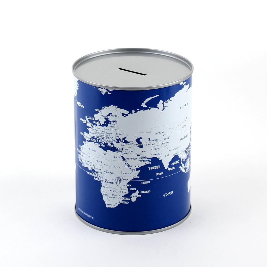 Coin Bank (World Map)