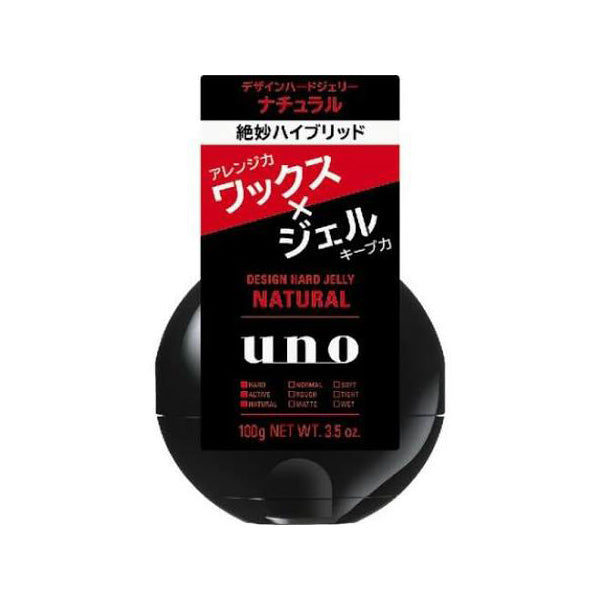 UNO-Hair Gel (Hard/Natural/100g)
