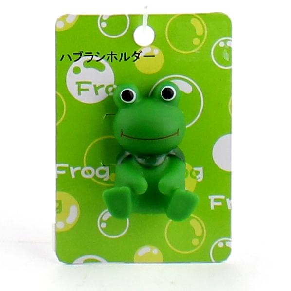 Toothbrush Holder (Frog/GR/5x4.3x2.5cm)