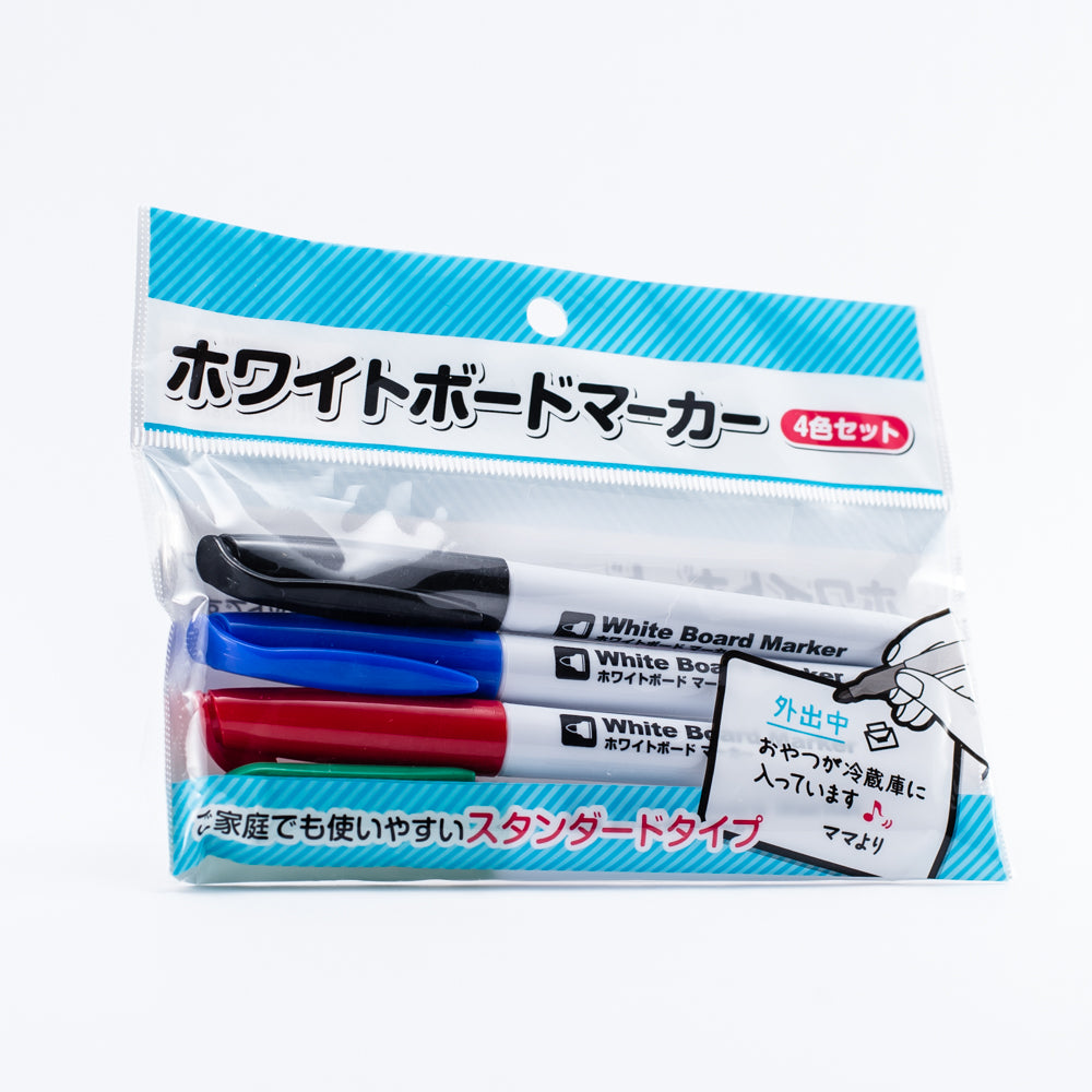 Whiteboard Markers (16x2 cm/4Xcol)